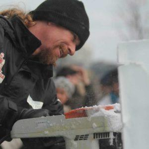 Burr Rasmussen Ice Sculptor